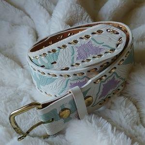 Vintage Thunderbird Linda Lundstrom leather belt M